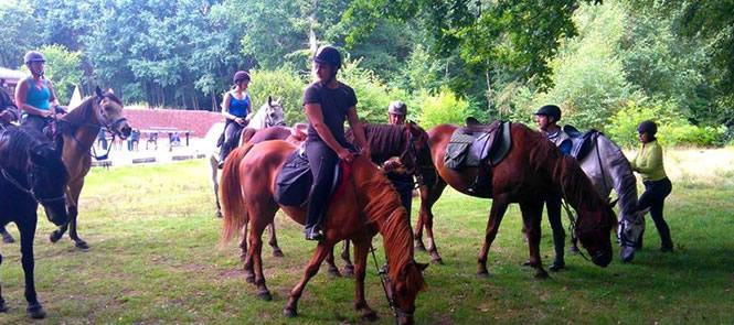 Balade à cheval dans le Pas de Calais