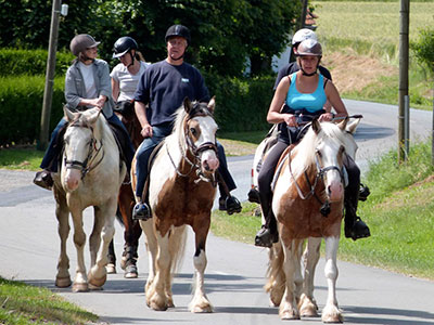 balade cheval Boyaval